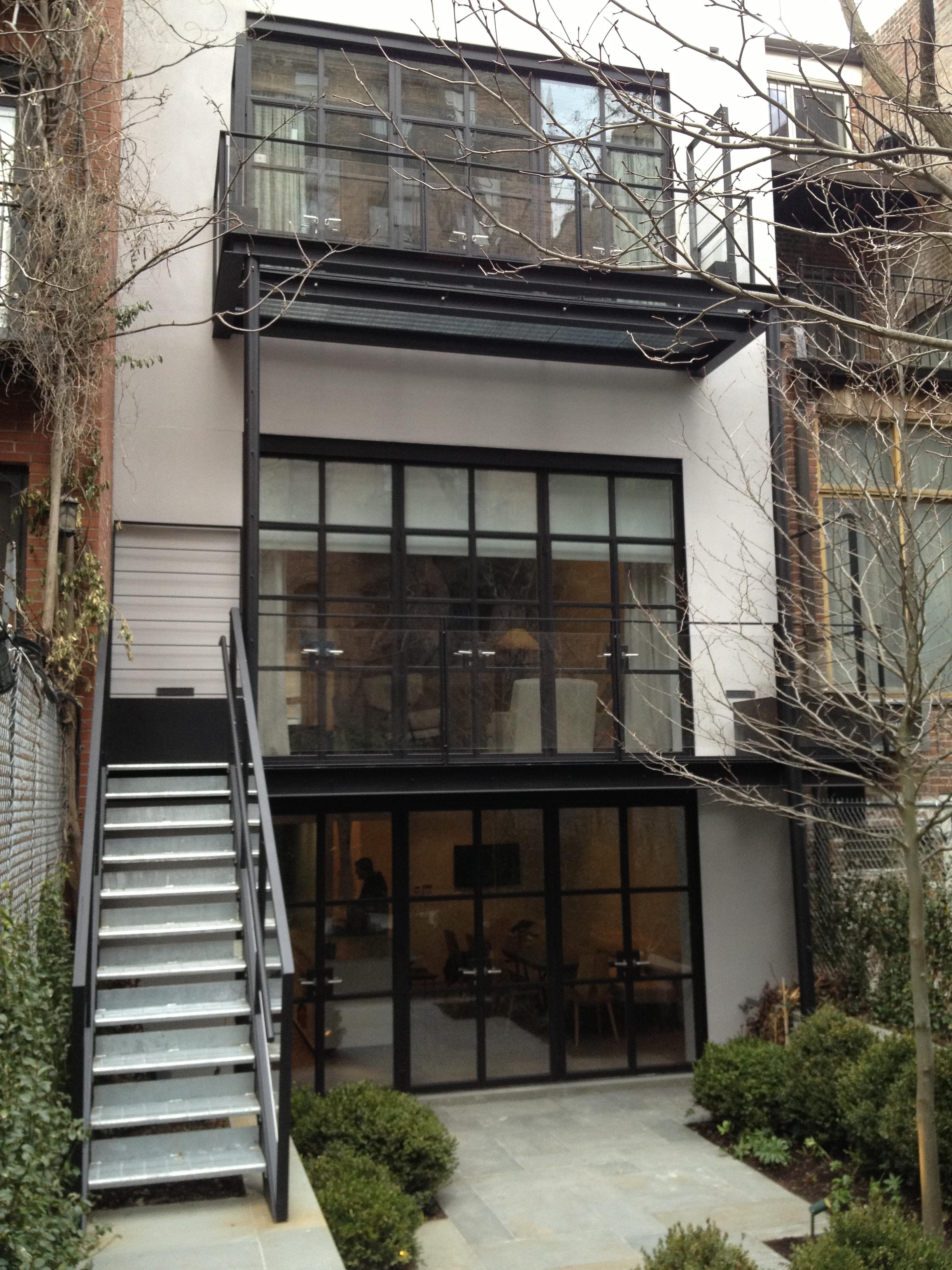 West 22nd street - New York, NY - Rear Facade
