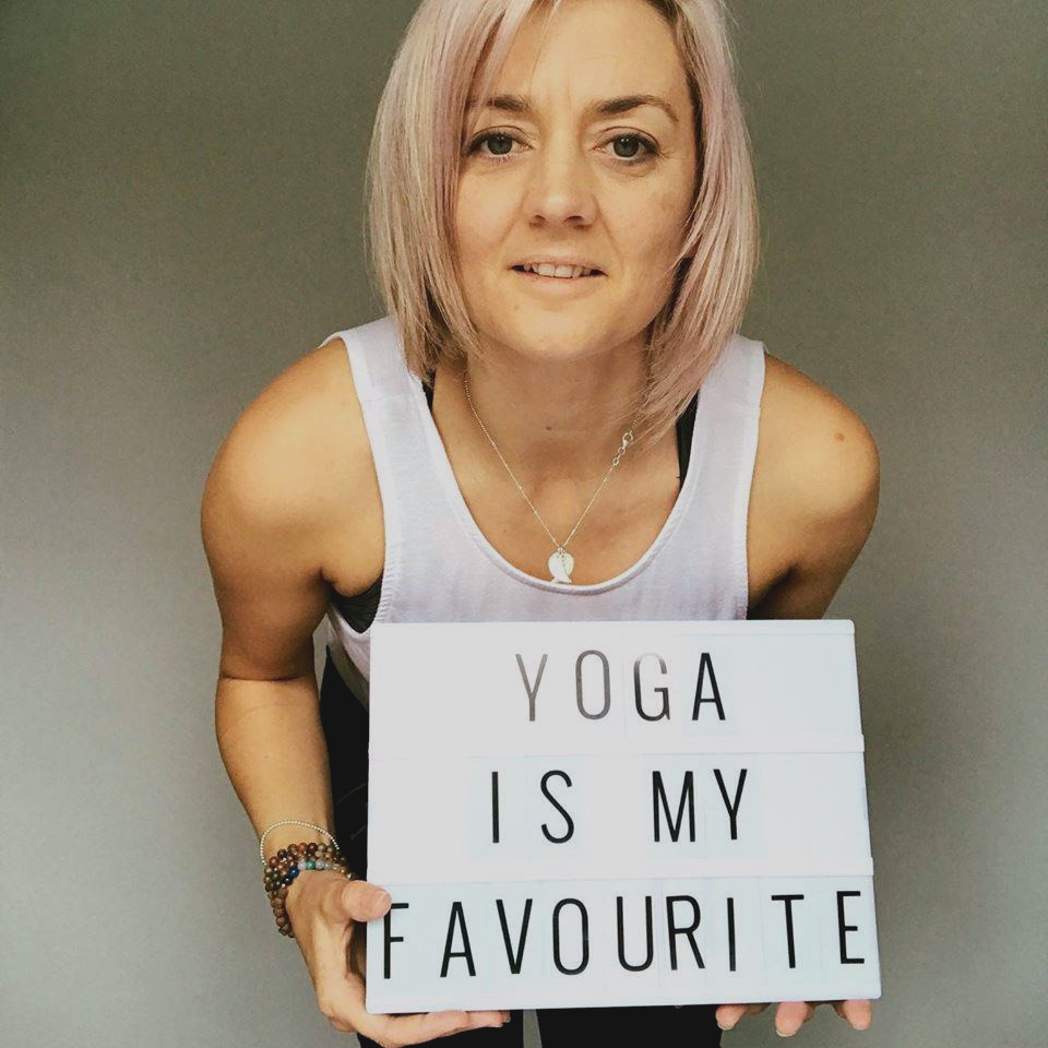 I first came to yoga to increase my flexibility, gain strength of body & bring some calm into my life -