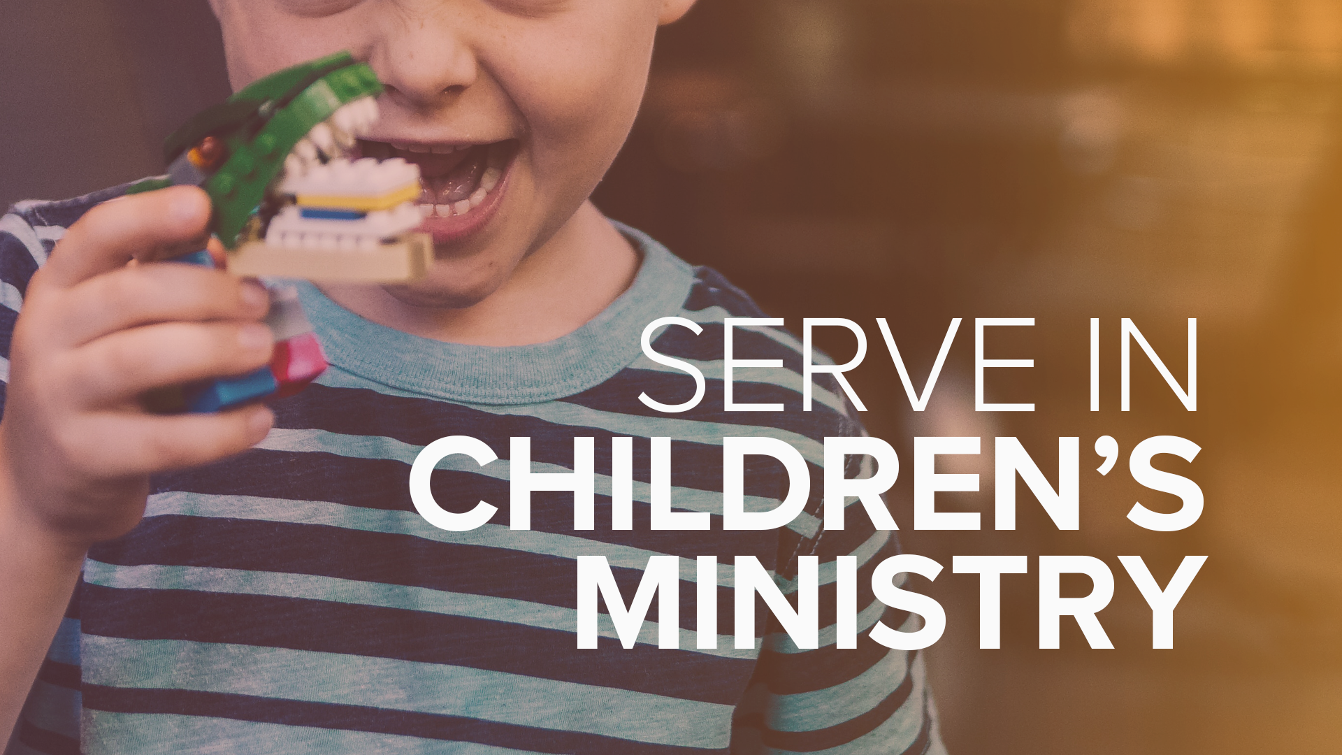 - We value our kids and we value being Seriously Fun by learning from their joyful abandon. Serving our Children's Ministry and Nursery is rewarding and life giving. Sign Up.