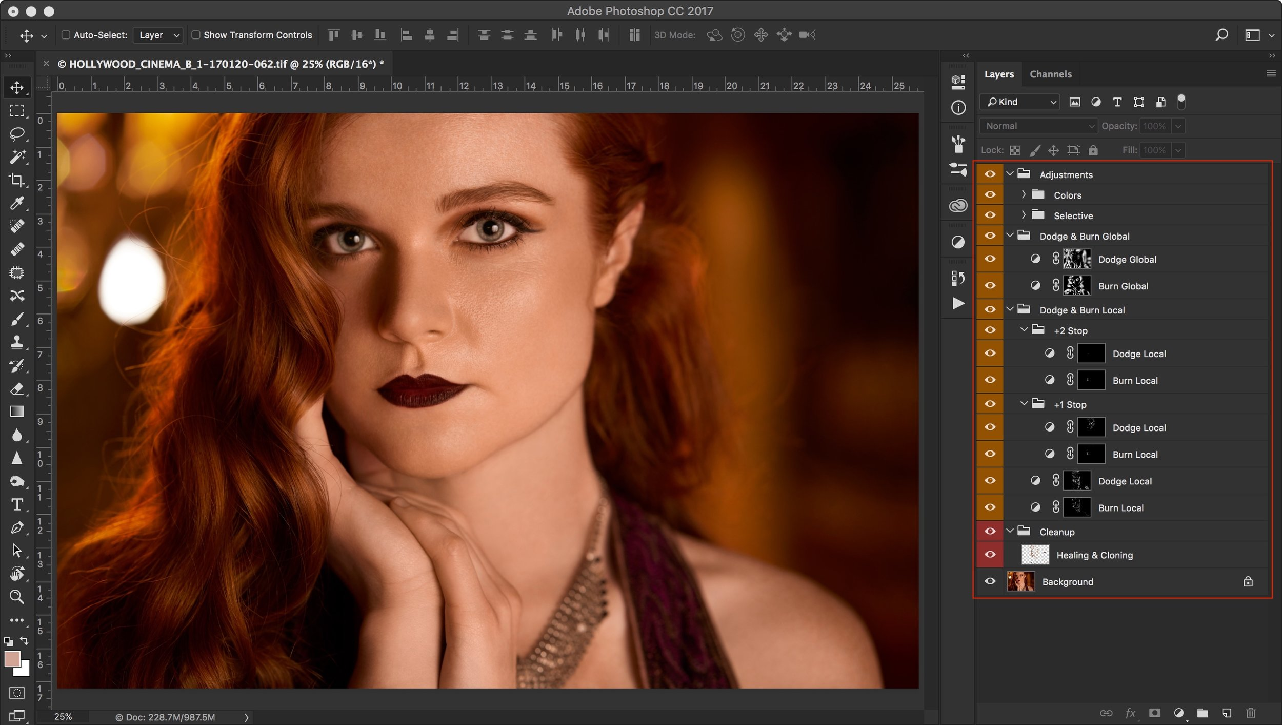 Retouch:  Images are retouched using Photoshop using nondestructive methods.  PS: I will dedicate a complete blog on nondestructive retouching process.