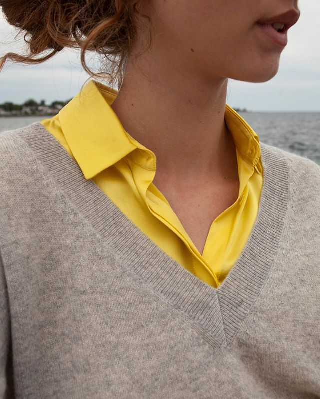 Pairing silk with cashmere for fall 🤝 #beigeshop #silk #Pineapple #slowfashion