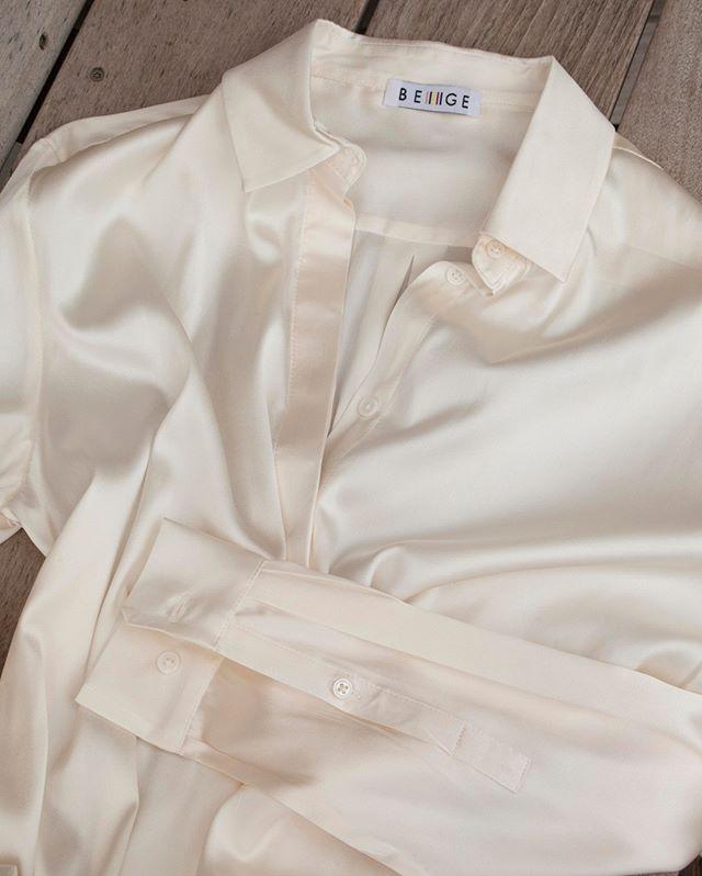 Back to blanche 🕊 #beigeshop #silk #Ivory #slowfashion