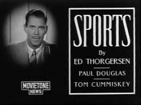 Sportcaster Ed Thorgersen