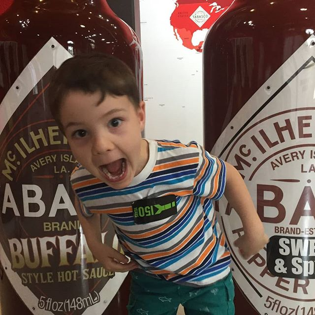 Swipe right to see all of my silly faces! Tabasco makes be a little crazy! Watch the video! Link in bio! It's just so spicy!! Do you have any tabasco at your house? Let me know in the comments! @thetravelvlogfamily #travelvlog #family #kidstravel #travelkids #kidstraveller #kidstravelling #kidstravelblog #kidstraveling #kidstraveltoo #kidstraveler #kidstraveljournal #kidslovetravel #kidswhotravel #kidstravellers #travelwithkidsblog #kidsthattravel #awesometravelkids #kidstravelers #travelingkids #welltraveledkids #kidscantravel #kidsandtravel #havekidswilltravel #travelmomentswithkids #familylife #familyvlogger #familyvloggers #familytraveling #familyvlog #familyvlogs