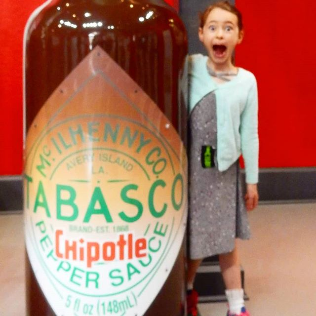 This is my dad's favorite flavor of Tabasco! What's your favorite flavor? Do you remember when I tasted tabasco for the first time? It's a part of it latest video, link in bio! @thetravelvlogfamily #travelvlog #family . . . . .  #travelingwithkids #travelingfamily #kidstravel #travelkids #kidstraveller #kidstravelling #kidstravelblog #kidstraveling #kidstraveltoo #kidstraveler #kidslovetravel #kidstravellers #kidswhotravel #travelwithkidsblog #kidsthattravel #awesometravelkids #travelingkids #travelmomentswithkids #kidscantravel #kidsandtravel #kidsandtravel #havekidswilltravel