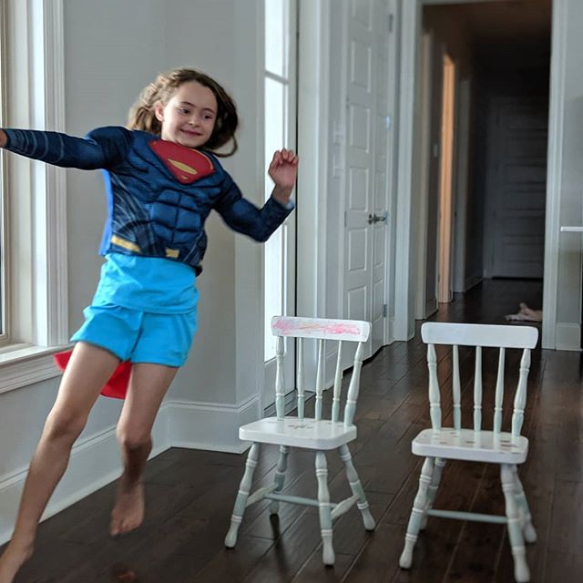 Super girl is on her way!!