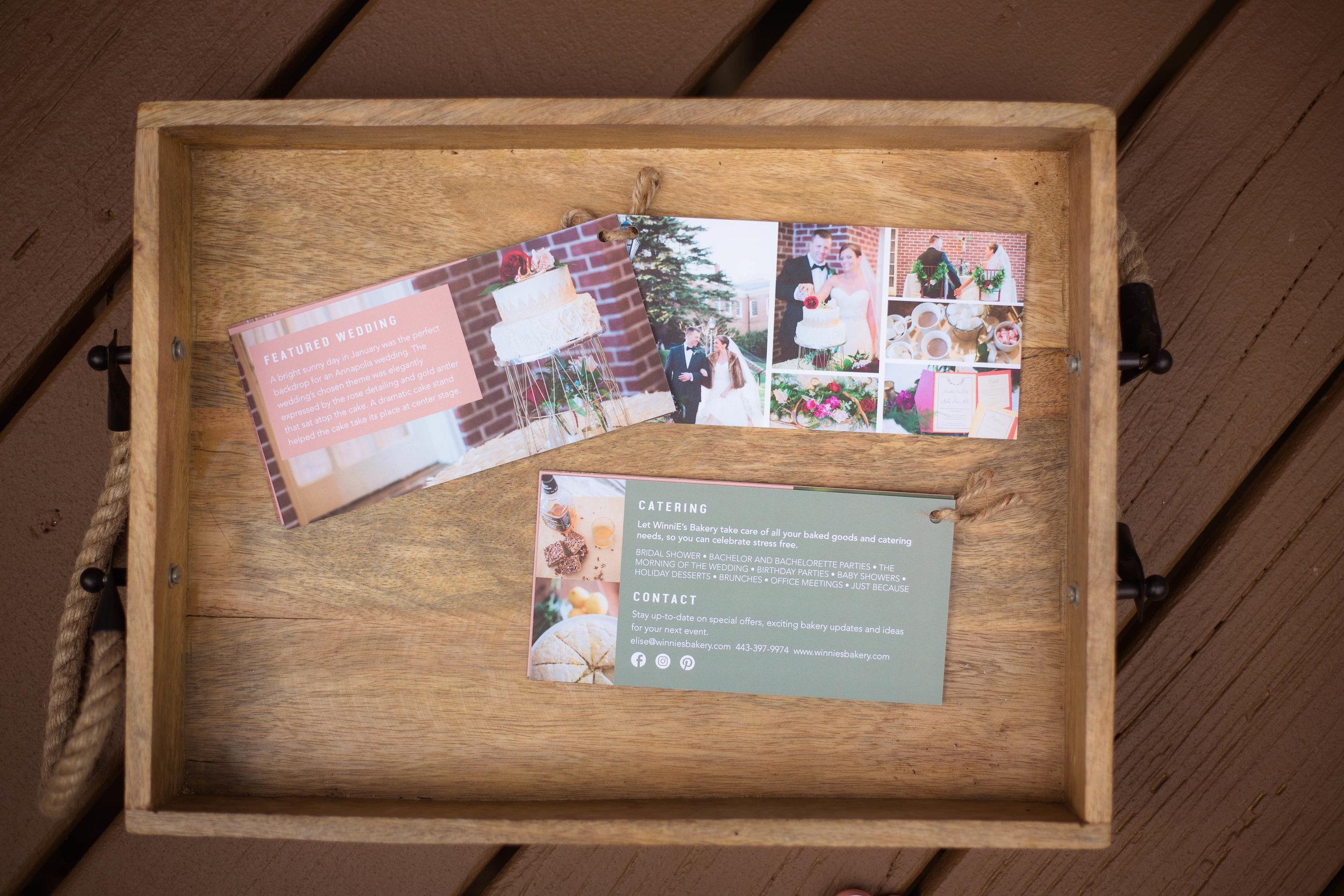 Bridal show handout