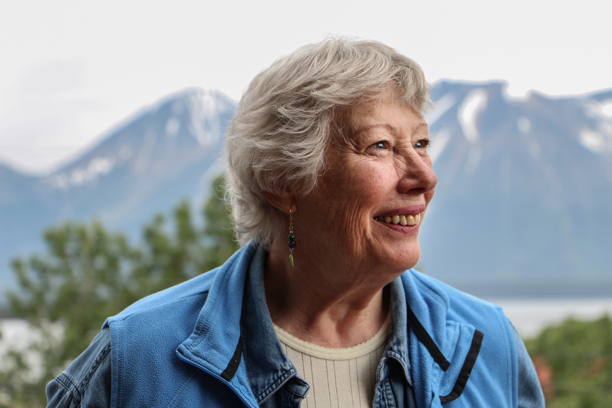 Cindy Merry was one of the original board members that brought the Arts and Music Festival to Atlin, B.C.