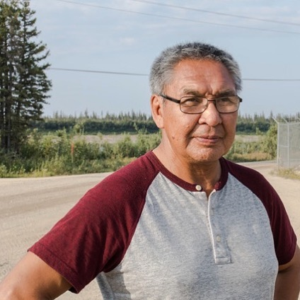 """Joseph Tetlichi became a hunter as a way to reconnect with his family and traditional ways after surviving 12 years in the residential school system. . He says instead of trying to get away from his parents as most students do after high school, all he wanted was to follow in his father's footsteps and focus on strengthening his bond to his culture. . """"I spent 20 years of my life out on the land,"""" he says. """"Just spending time out there hunting, fishing, gathering."""" . Originally from Fort McPherson, N.W.T., Joseph decided to move to Old Crow with his wife around the time several Yukon First Nations land claim agreements were being settled. . """"We never had a voice, we never did. The government did what they wanted, that was just normal for us to suck it up and take it on. But over the years, we created self-government, and now we have a voice,"""" he says. . He moved the whole family to Whitehorse in 2008 so his two sons could go to high school. . """"There's lots of impacts, negative impacts in regard to detaching your student, your child from the parent, and we didn't want that to happen,"""" he says. . """"They're doing well. We don't stress over them. They're good kids."""" . As chair of the Porcupine Caribou Management Board, Joseph advocates for the protection of the herd. He encourages good hunting practices. . """"It's been instilled in us through generations through our parents that you got to respect caribou."""" . . (⌨️ by @sarah_sibley , 📸 by @kaninaholmes ) #weareoldcrow #storiesnorth #oldcrowyukon #exploreyukon #porcupinecaribou"""