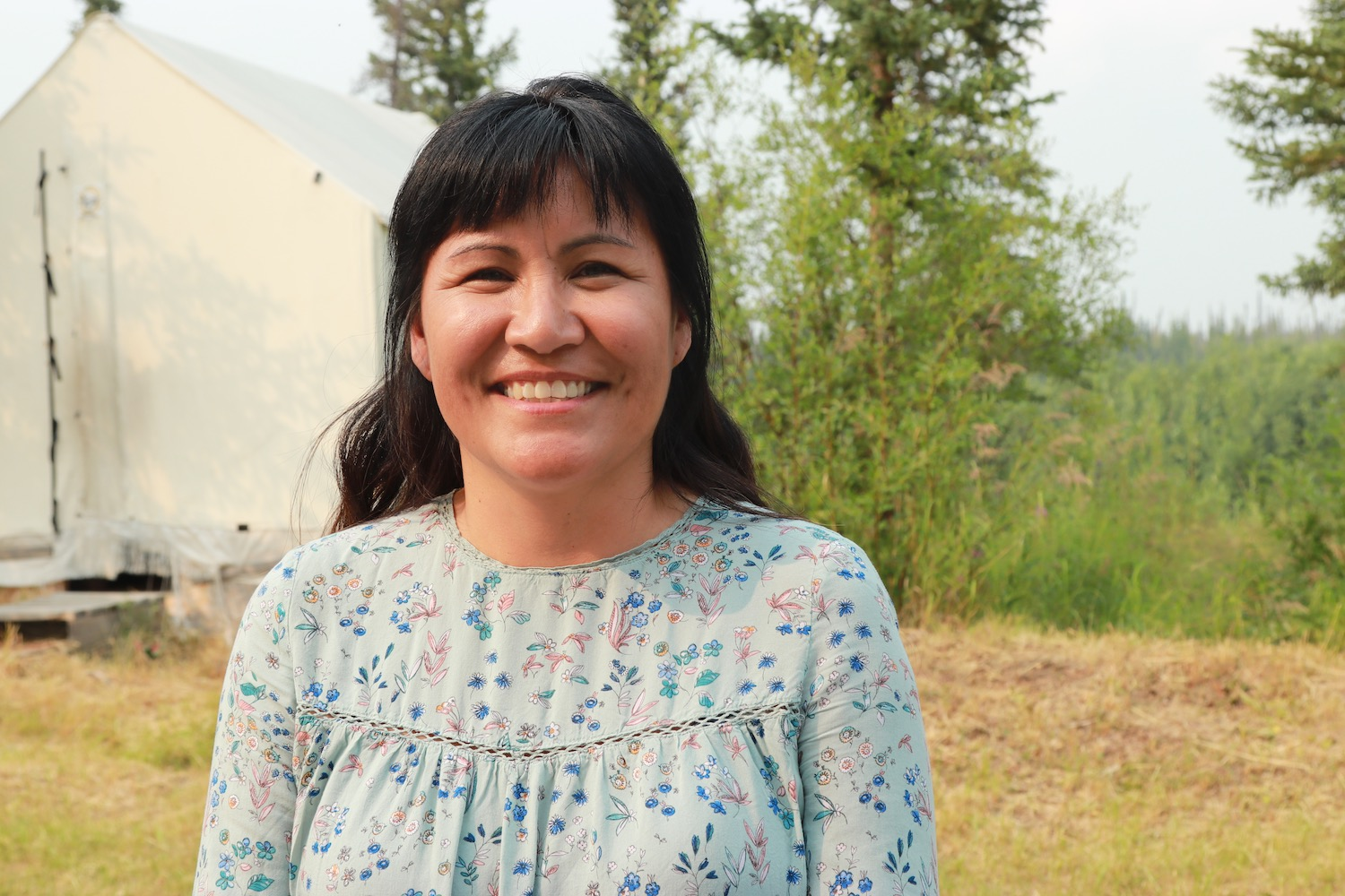Charyl Charlie, director of education with the Vuntut Gwitchin government. (Photo: Meral Jamal)