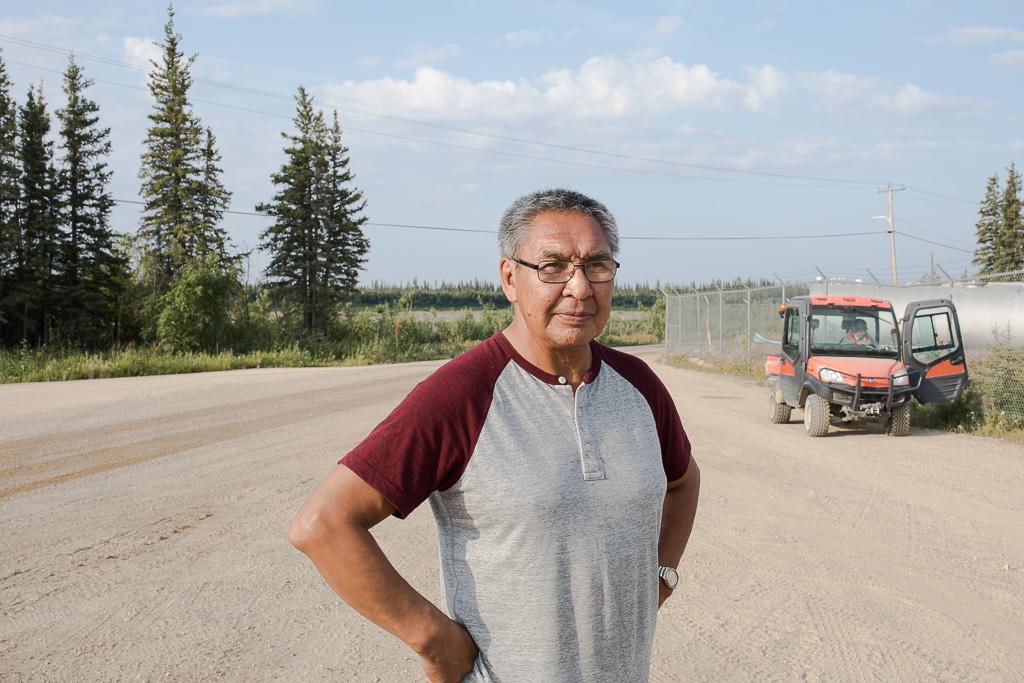 Joseph Tetlichi, chair of the Porcupine Caribou Management Board. (Photo: Kanina Holmes)