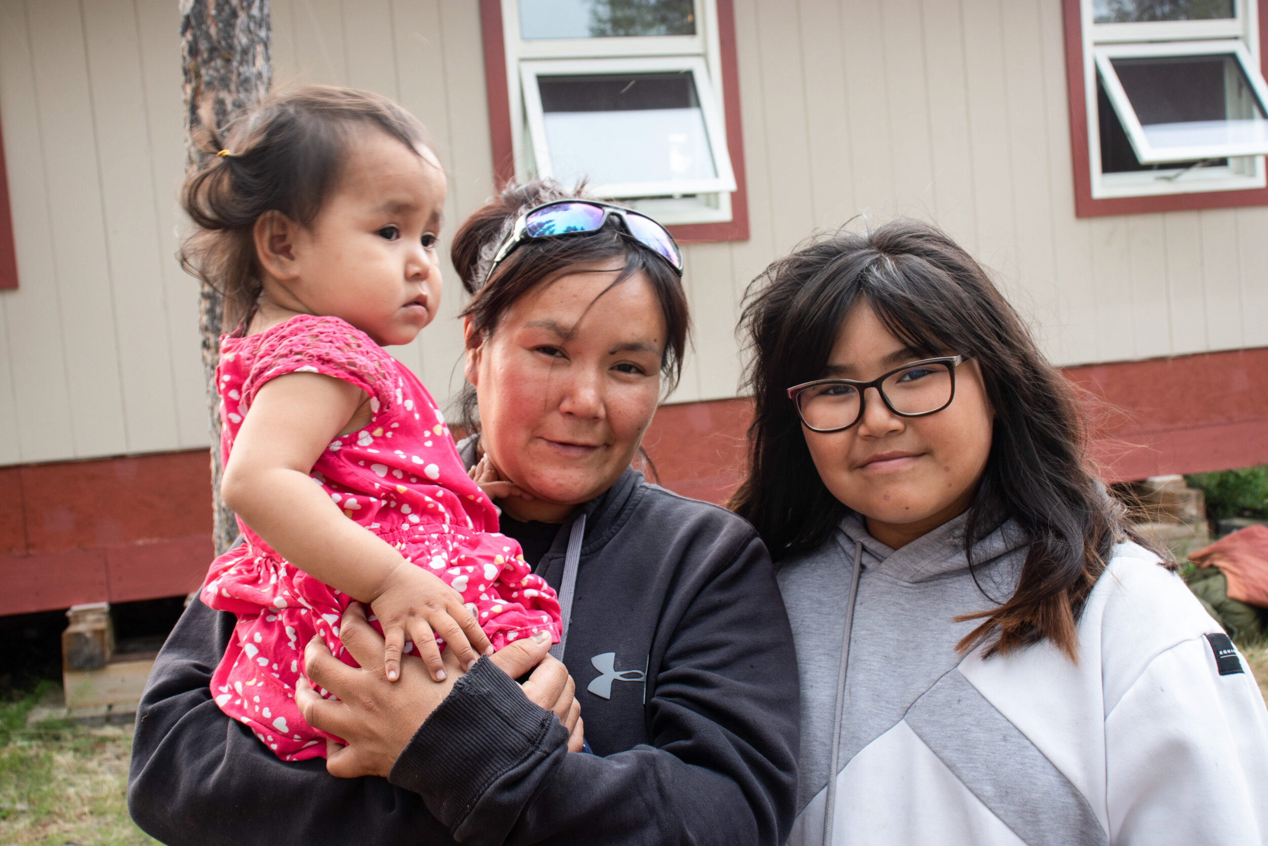 Crystal often gets to spend time with her biological mother, Anna Taureau. The two are pictured above with Anna's 18-month-old daughter, Kylie. (Photo: KC Hoard)