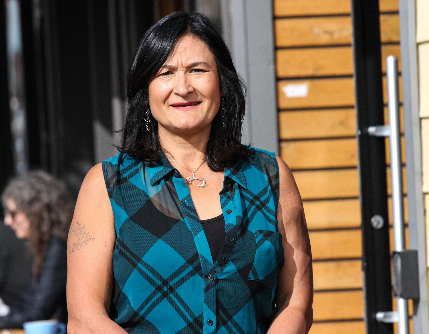 MLA Pauline Frost is from Old Crow. She maintains close ties with the community and travels there often. (Photo: Meaghan Brackenbury)