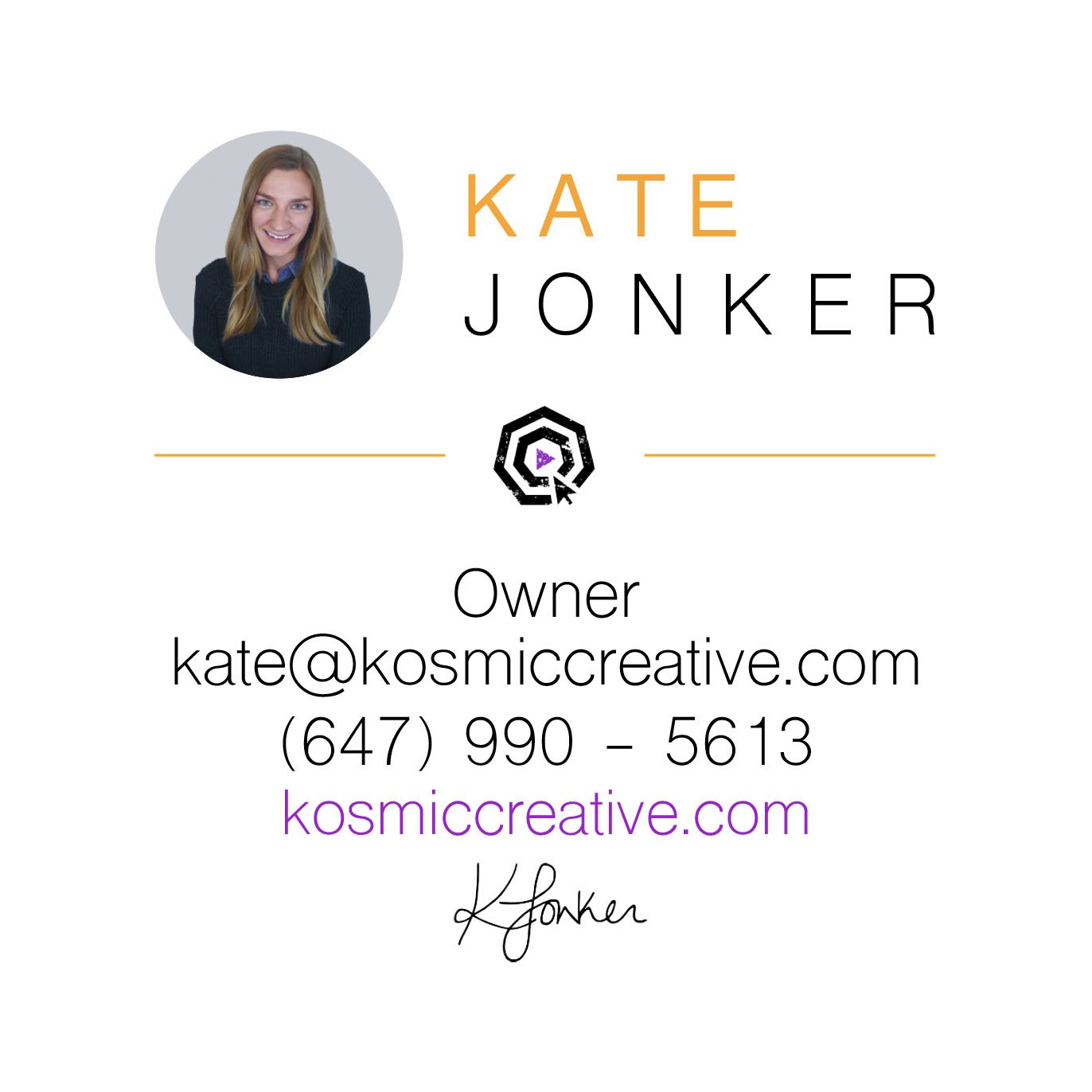 Business Card (Front) - Kosmic Creative (Graphic Design).jpg