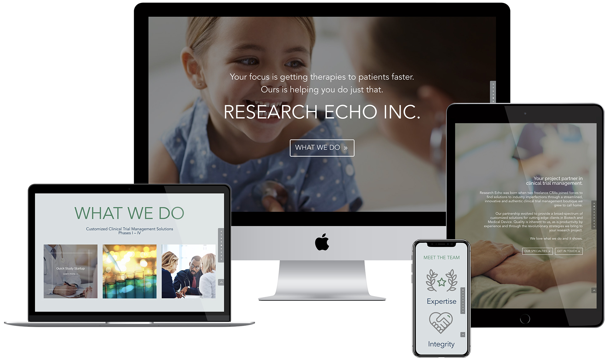 Research Echo → Clinical Research Organization