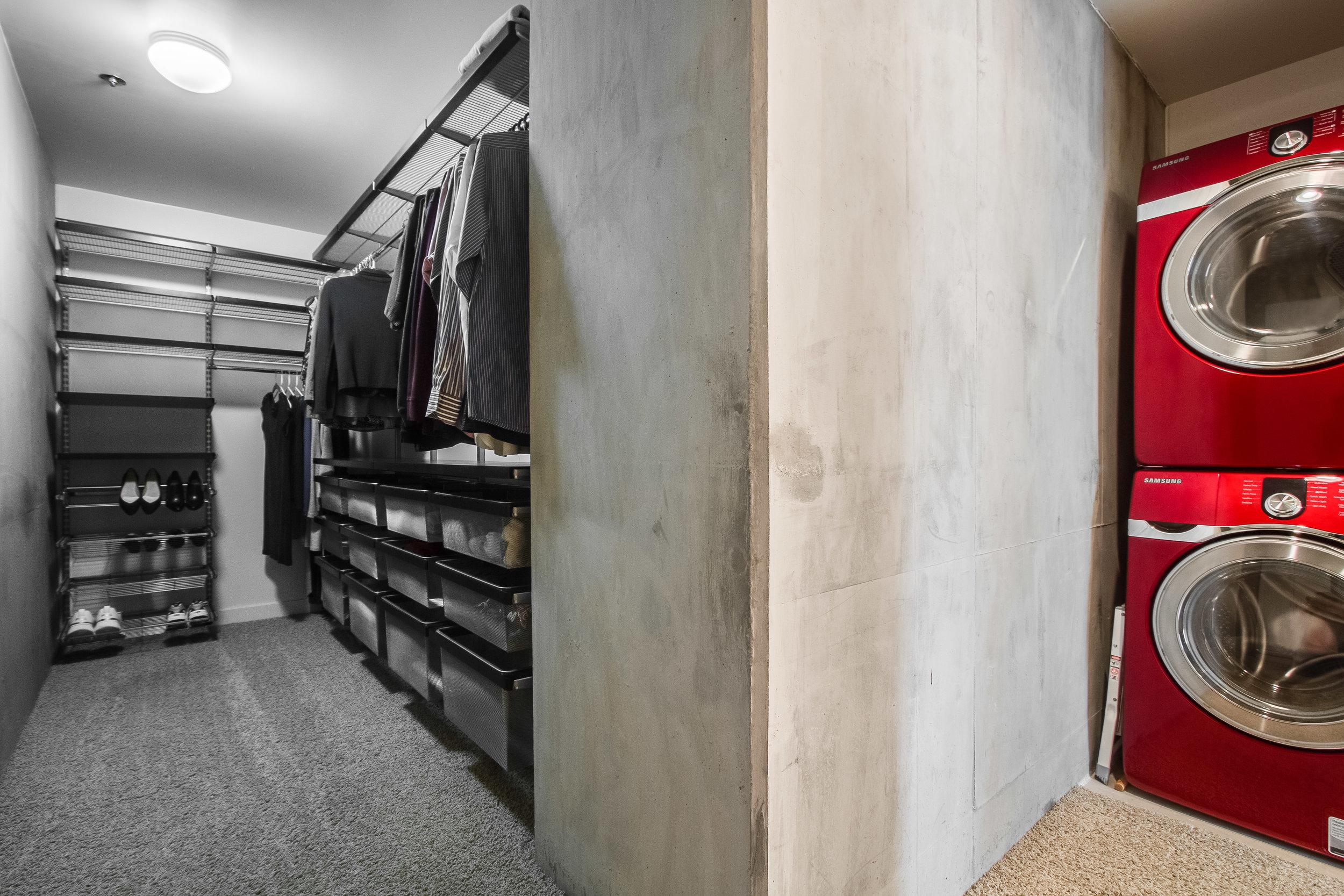 Spire 1810 Laundry:Master Closet.jpg
