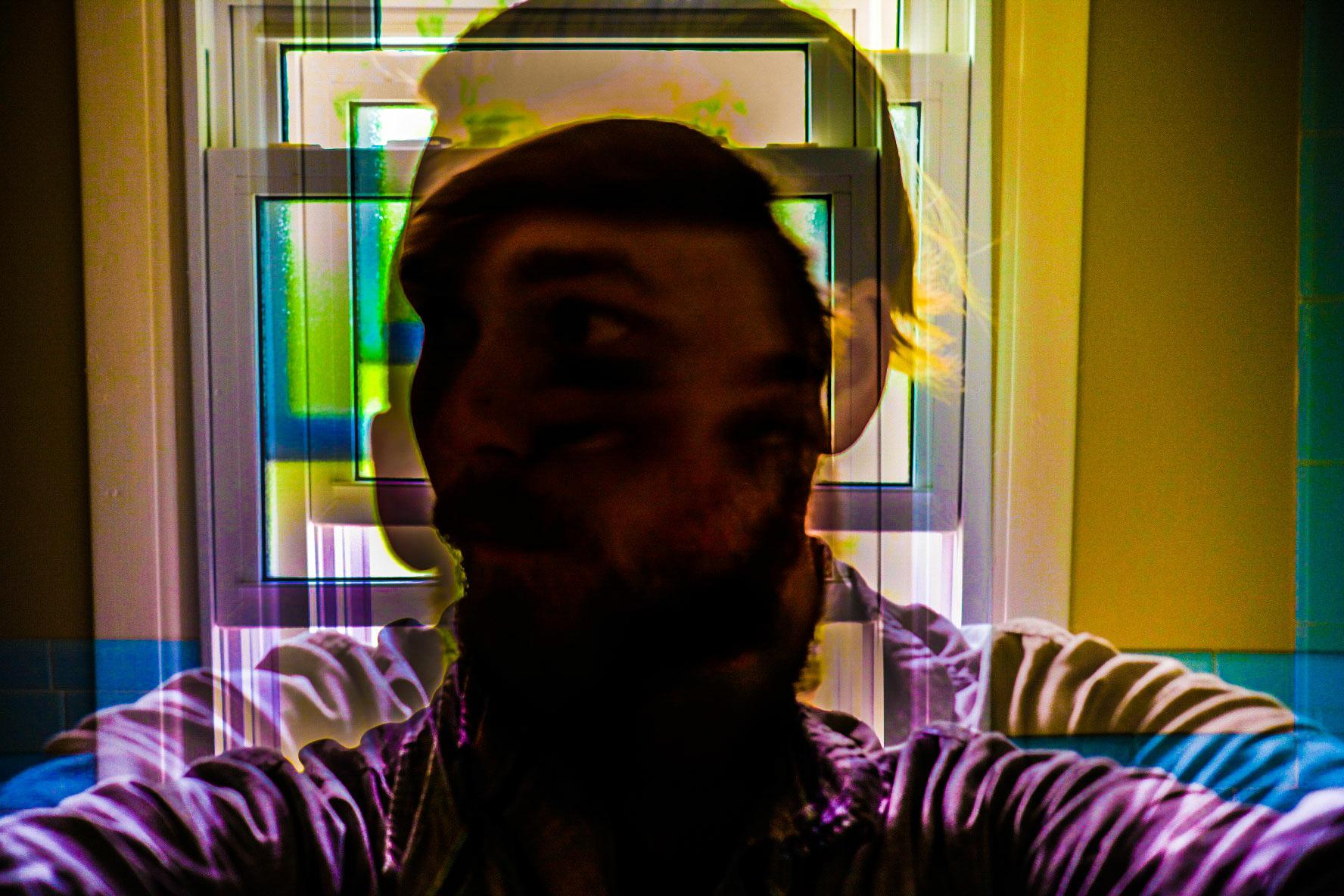 Self-Portrait in Two Exposures              FujiFilm XPro2 XF23mmF.2