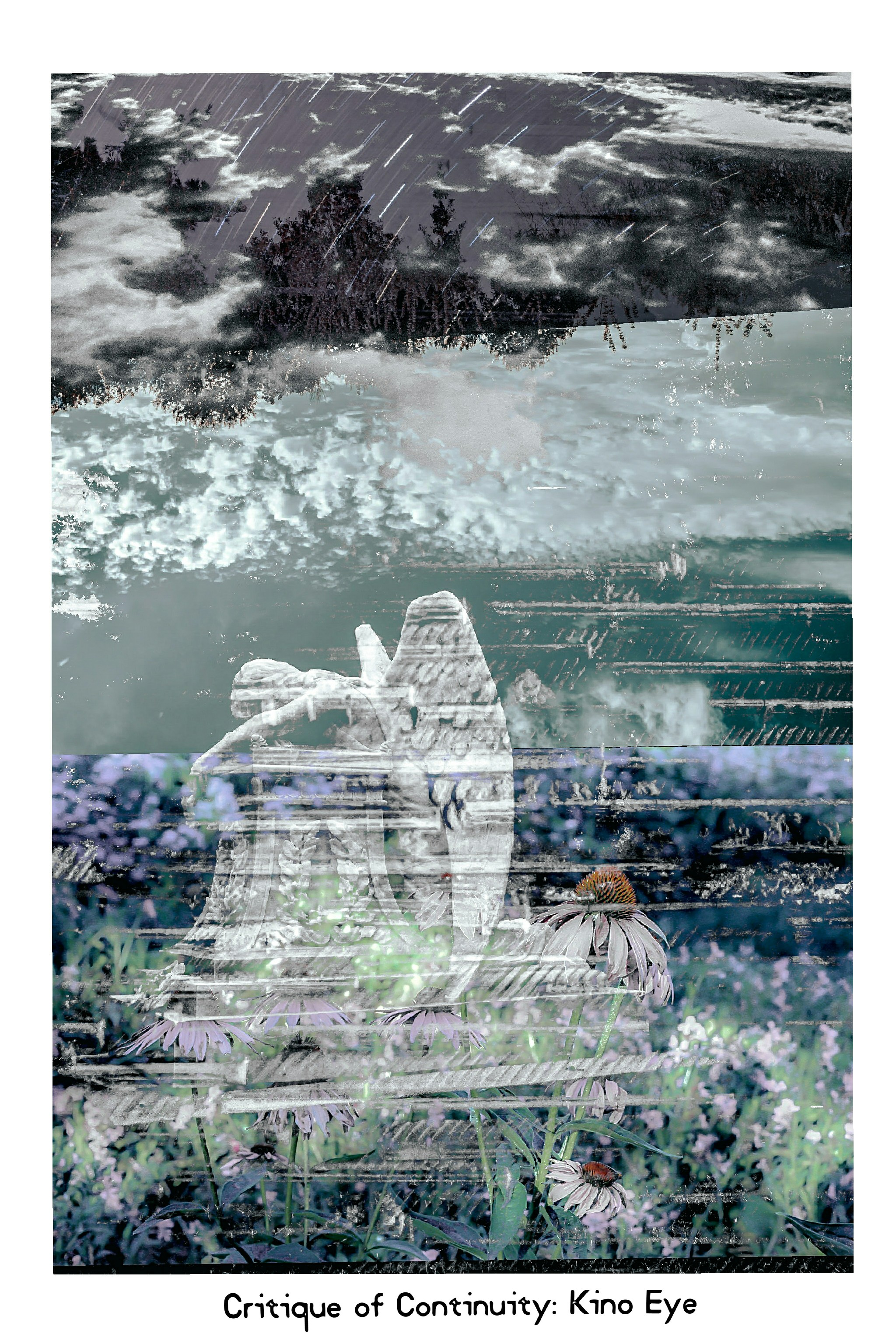 (Digital Photographs & Film in the Post Conventional Expressionist style,  FujiFilm X-Pro2, Kodak Ektar, FujiFilm Provia .Collage inspired by DADA, Sergei Eisenstein & Dziga Vertov)