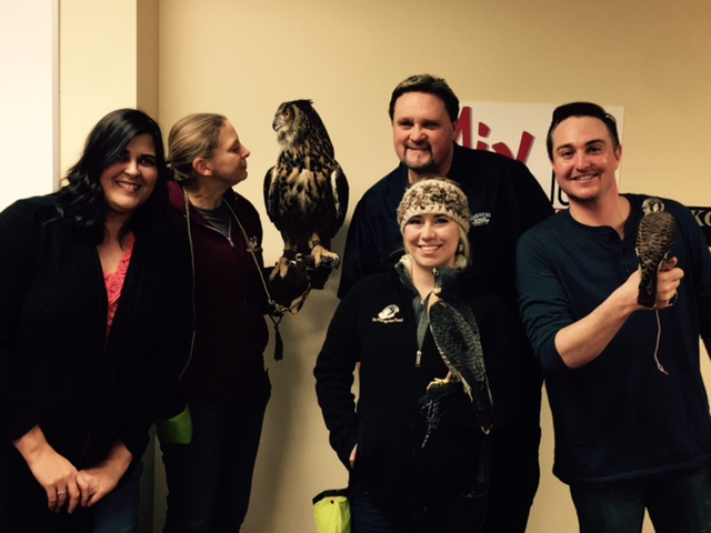 Special thanks to Mike, Nicole, JD, and The Birds of Prey team!