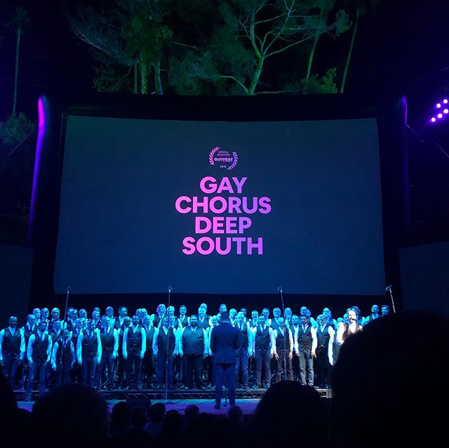 Congratulations @davidas on the LA premiere of Gay Chorus Deep South! Thanks for making a film about kindness, music, and the magic that happens when we're willing to reach out to one another with love in our hearts 🖤