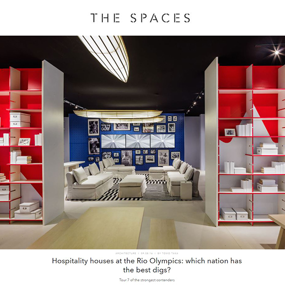 The Spaces - August 2016Hospitality Houses at the Rio Olympics: Which Nation has the Best Digs?