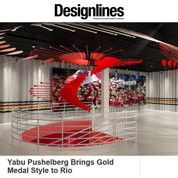 Designlines Magazine - June 2016Yabu Pushelberg Brings Gold Medal Style to Rio