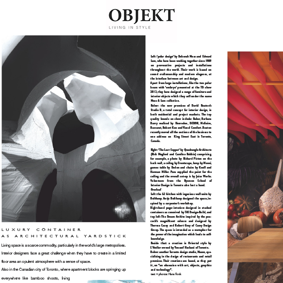 Objekt - June 2012Ursa Major