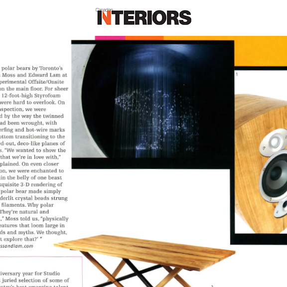 Canadian Interiors - April 2012Ursa Major