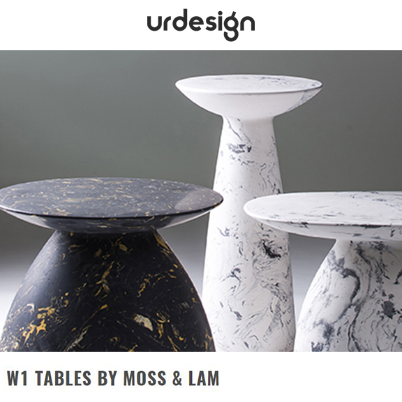 urdesign - July 2016W1 Tables by Moss & Lam