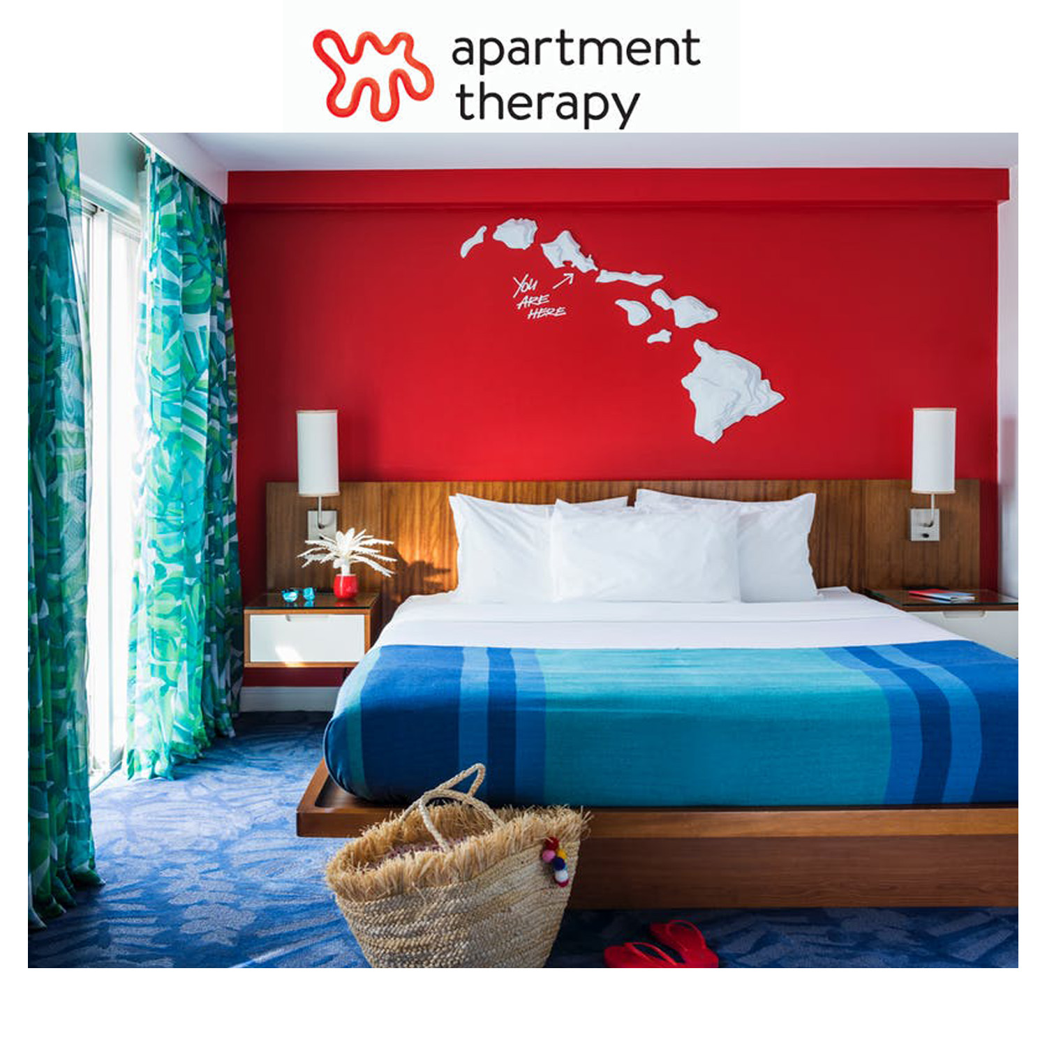 Apartment Therapy - August 2018Inside Hawaii's Most Colorful New Hotel