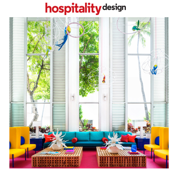 Hospitality Design - August 2018Statement Makers: Shoreline Hotel Waikiki, Hawaii