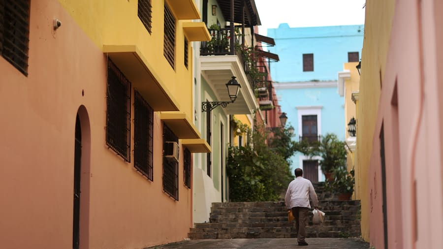 Puerto Rico tourism slowly bouncing back