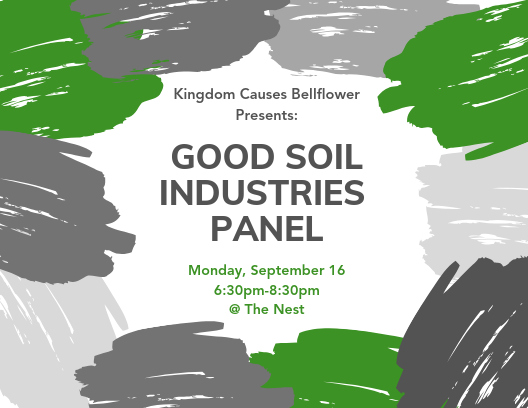 REGISTER FOR THE GOOD SOIL INDUSTRIES PANEL BELOW! -