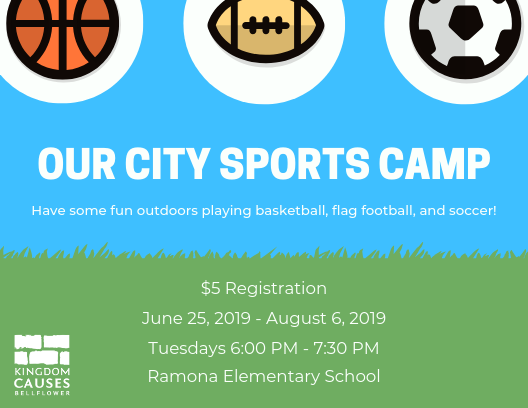 SIGN UP FOR OUR CITY SPORTS CAMP BELOW! -