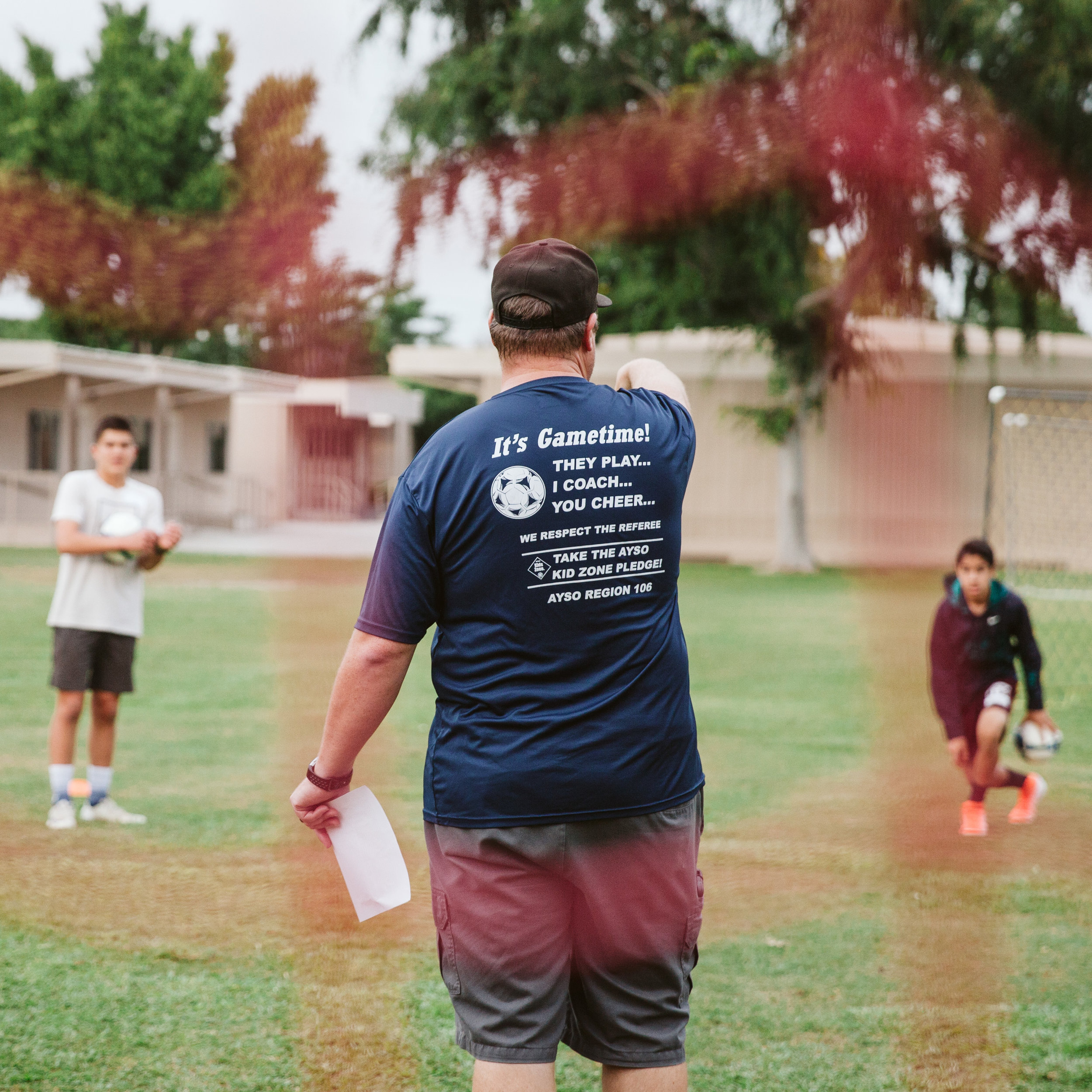 OUR CITY SPORTS CAMP COACH - If playing soccer, flag football, basketball and other fun games sounds like a lively summer night to you, please join us as an Our City Sports Camp coach! During the summer at Ramona Elementary School, we provide a low cost sports camp for kids in the surrounding community.