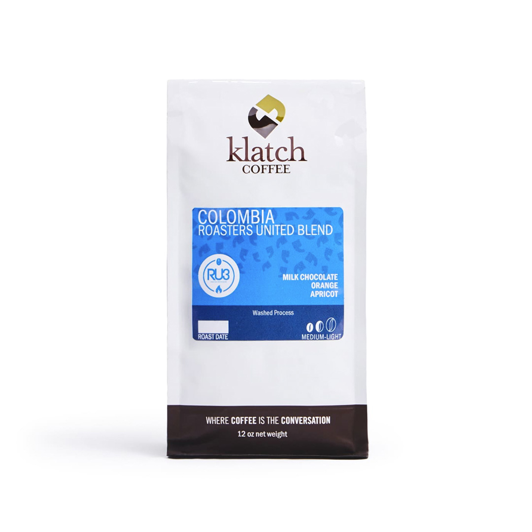 Colombia Roasters United Blend - Grade A coffee + Grade A coffee = ? Math isn't our thing but we do know roasters and drinkers unite behind this smooth blend that combines the best of the best.