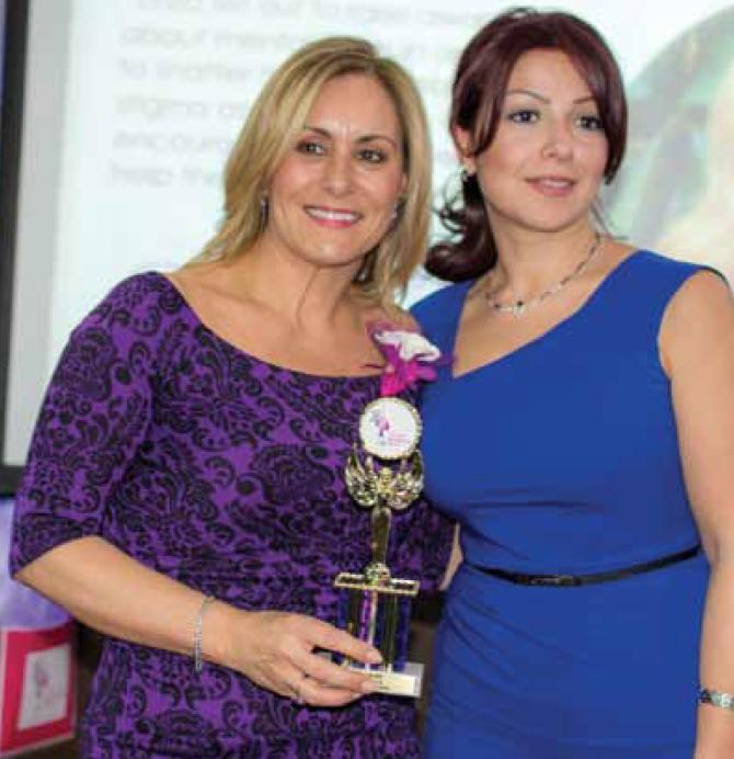 absolutely fabulous women award enza tiberi checchia