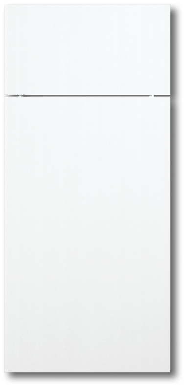 Simple White Thermofoil Door