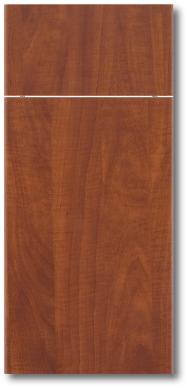 Slab Cherry Thermofoil Door