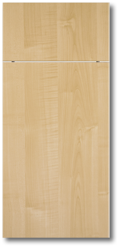 Slab Maple Thermofoil Door