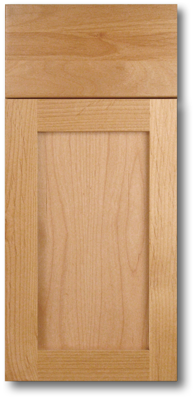 Kahala - Clear Alder with Natural stain Wood door