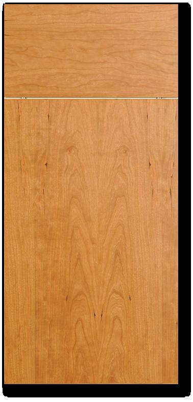 Makena - Cherry flat sliced veneer door