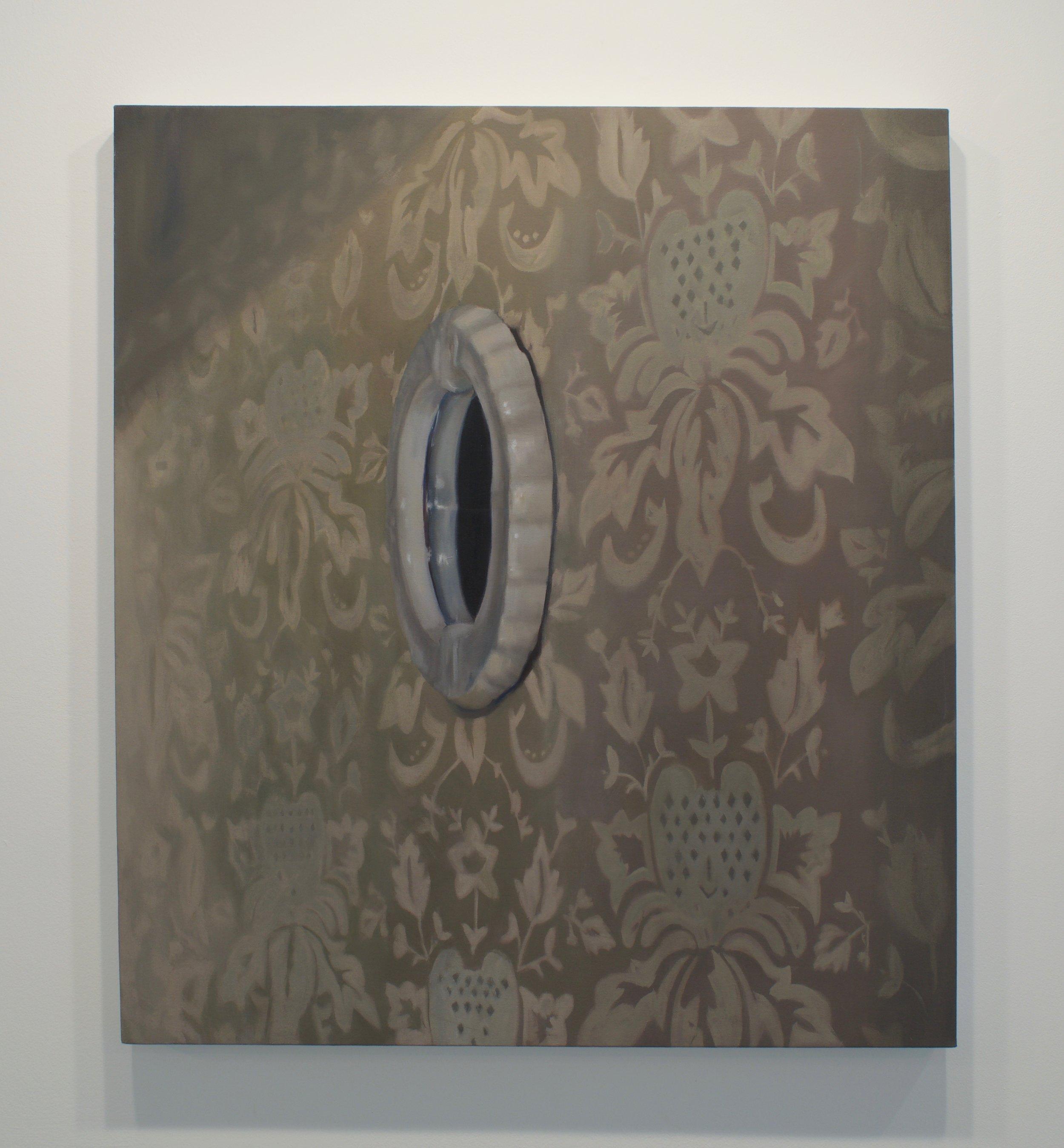 Emily Quinn, Portal, 2016. Oil on canvas, 42 x 36 in.