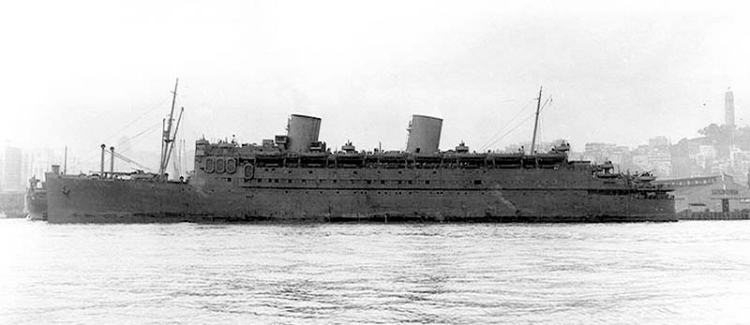 SS Matsonia 1943