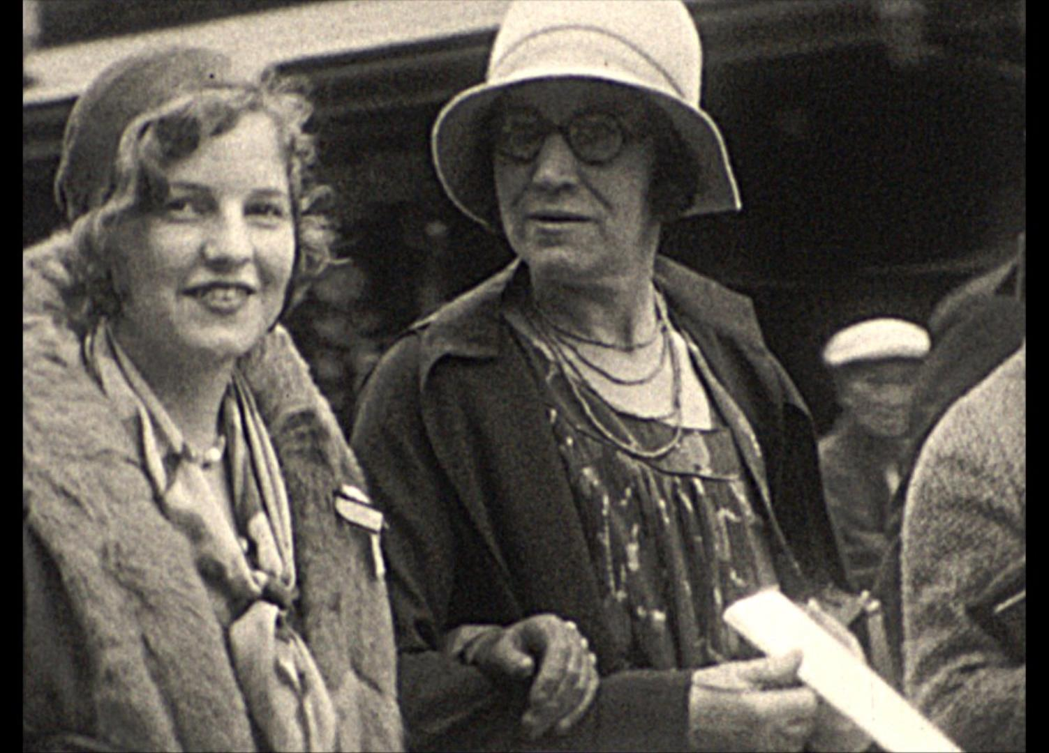 Helen and Margaret Walker