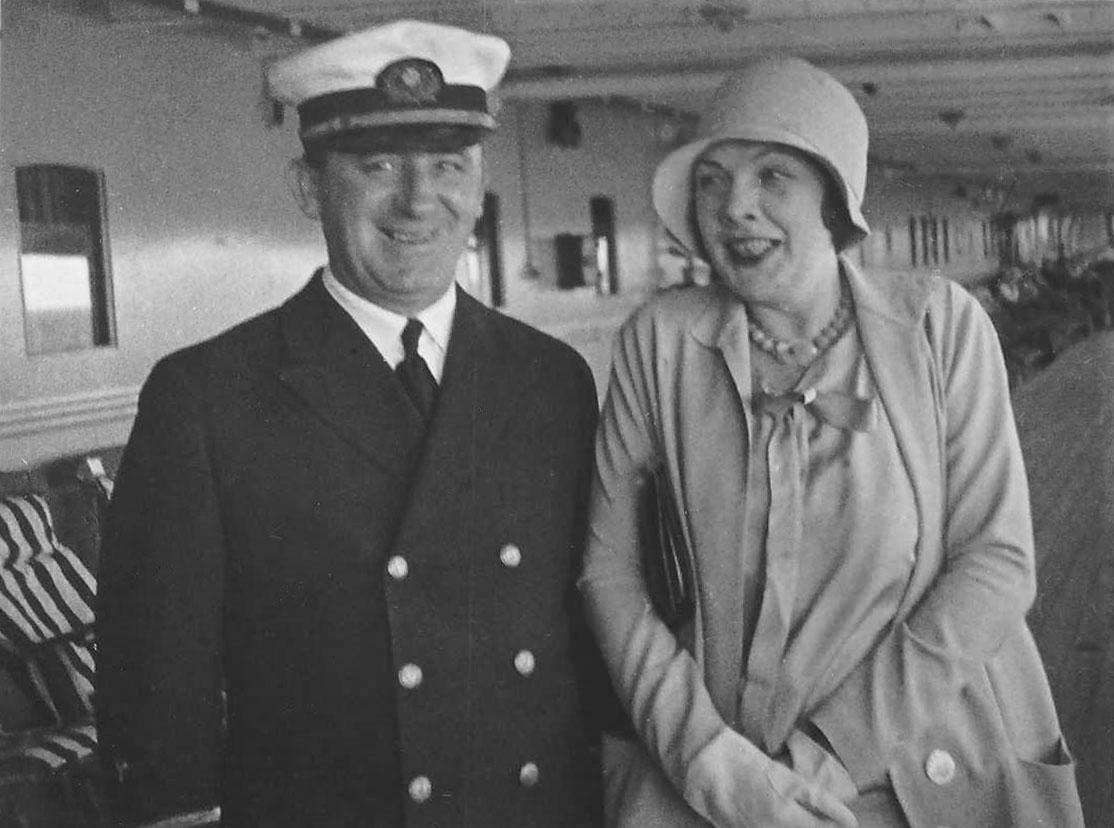 Chf. Eng. RC Dwyer, Hazel Borden