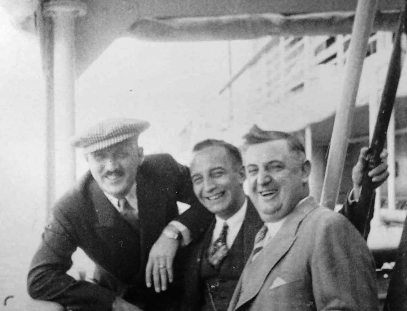 Miles Blaine, Russ Wagner & Ross Hall