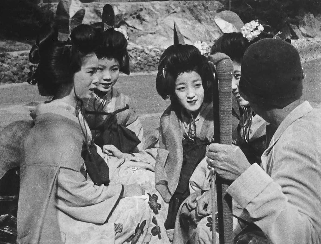 Geisha Girls in Japan