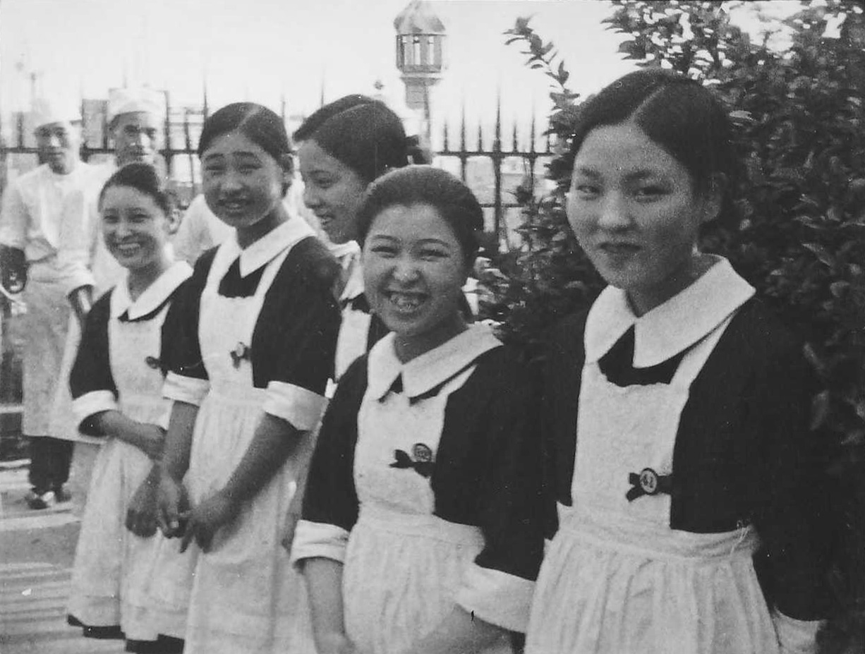 Tea Waitresses in Tokyo
