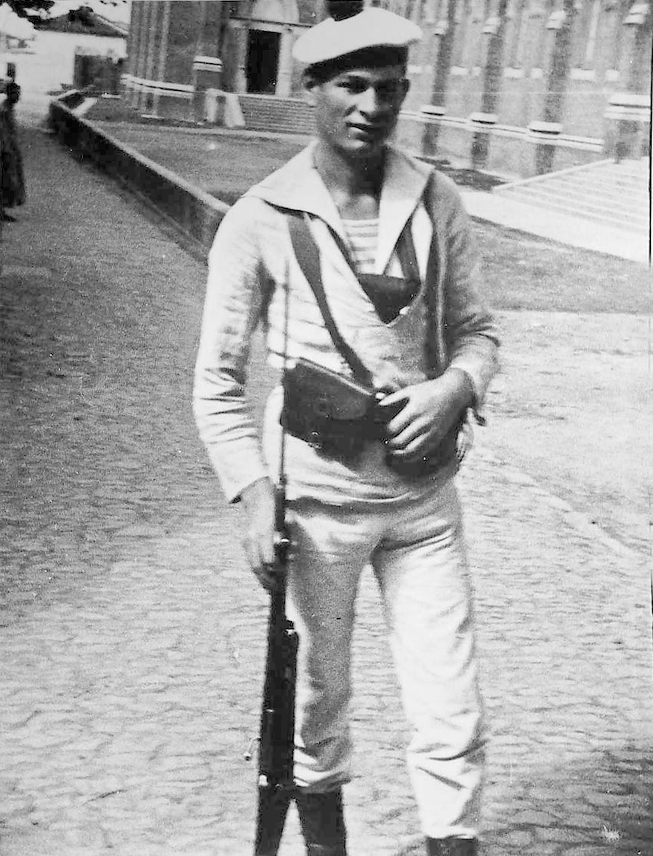 French Soldier in Saigon